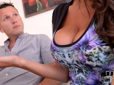 3some  busty  cum on tits  doctor  fuck  goddess