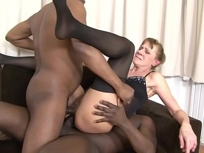 3some   anal   ass   fuck   granny   interracial