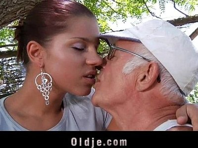 big cock  fuck  girlfriend  old and young  old man  older