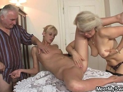 3some  old and young