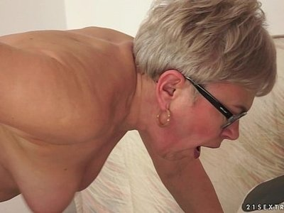 cock  fuck  granny  old and young  older woman