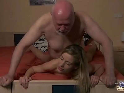 beautiful  boss  fuck  horny  old and young  old man