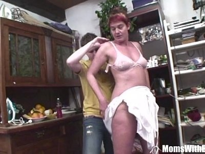 cock  grandma  lovely  mom  pounding  young