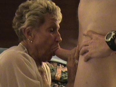 granny  penis  sucking  young