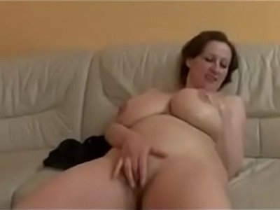 bbw  couch  huge tits  milf