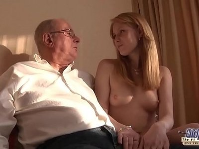 fuck  grandpa  licking  pussy  young
